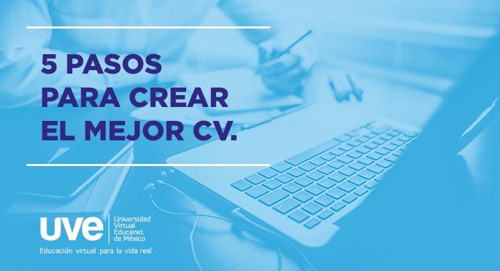 5 pasos para crear un CV