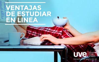 ¡Estudiar en línea es fácil!